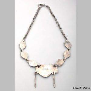 Alfredo Zalce Jewelry - Alfredo Zalce Aztec Sterling Women's Necklace